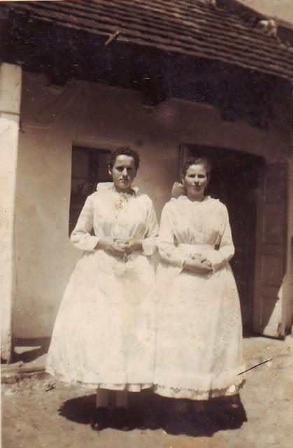 Felnémeti lányok az 1940-es évekből