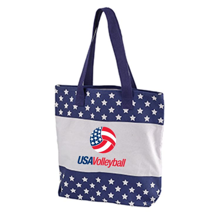 USA Volleyball Stars Tote Bag | USA Volleyball Shop