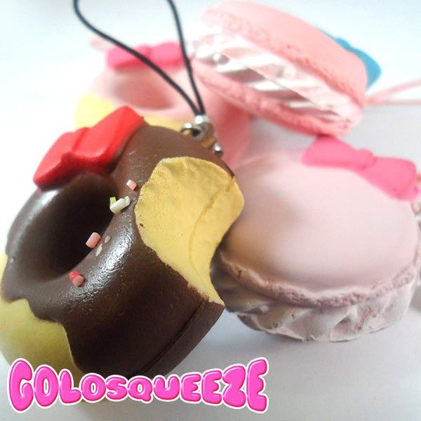 These squishies are the most delicious charms ever, perfect for your bag or your smartphone! They're so beautiful and soft that you won't resist from squishing them. Moreover, their softness is the sweetest de-stressing toy you can have. Find it on www.Delicute.com