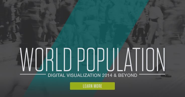 """PRB's Digital Visualization highlights key global demographic trends. Explore current and projected population by region and country. And look at changes in total fertility, infant mortality, and life expectancy since 1970. A U.S. """"What-If"""" scenario focuses on the effects of race and ethnicity on child poverty, child obesity, and college degrees. Also check out PRB's 2014 World Population Data Sheet, interactive map, and DataFinder."""