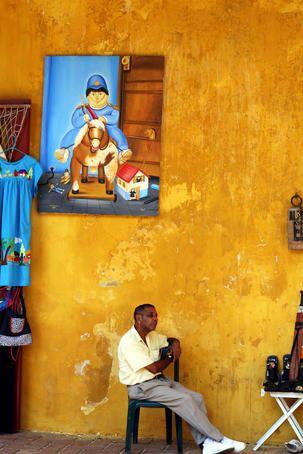 walled city. Cartagena, Colombia
