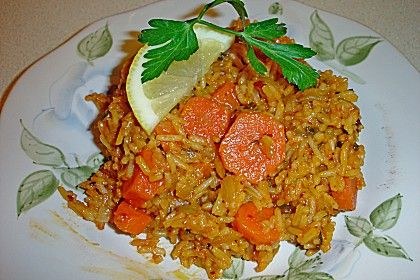 Karotten - Lauch - Reis, türkisch (Rezept mit Bild) | Chefkoch.de