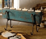 Rustic Candles & Candle Holders Made From Birch & Twig