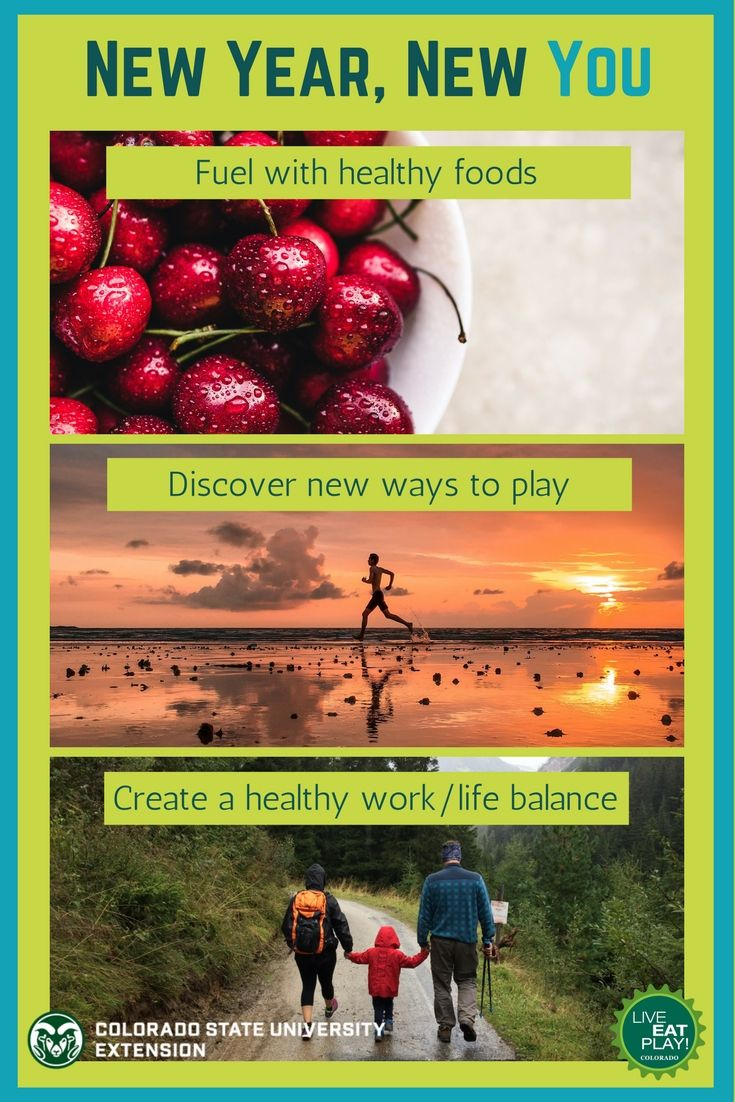 Are you tired of your workout routine or the same list of groceries? With a little effort, you can explore new ways to live, eat and play for a healthier and happier you in the New Year to come. Here are our tips to help you thrive in the upcoming year.