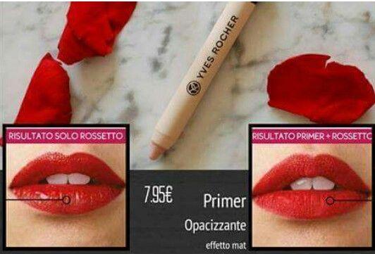 Primer labbra da effetto lucido a effetto mat  #labbra #effettomat #rossetti #coprente #lucidalabbra