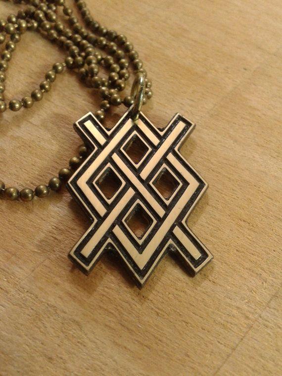 Odin's Spear pendant Gungnir necklace by NorthernDragonCrafts