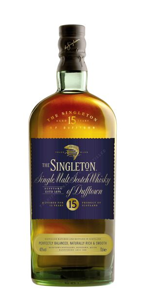 Singleton of Dufftown 15 Year Old. The depth and richness of its flavour is achieved through longer fermentation and slower distillation. - See more at: http://flaviar.com/product/singleton-of-dufftown-15-year-old#sthash.MPAy94mQ.dpuf