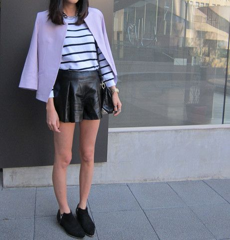 Renee Lilac Tailored Blazer $62.00 http://www.helloparry.com/collections/outwear/products/renee-lilac-tailored-blazer