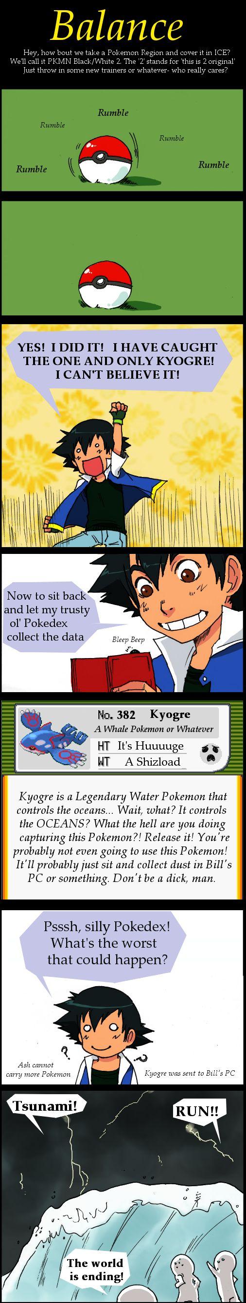 Pokemon: Balance!