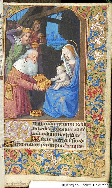 Book of Hours, MS M.380 fol. 59r - Images from Medieval and Renaissance Manuscripts - The Morgan Library & Museum