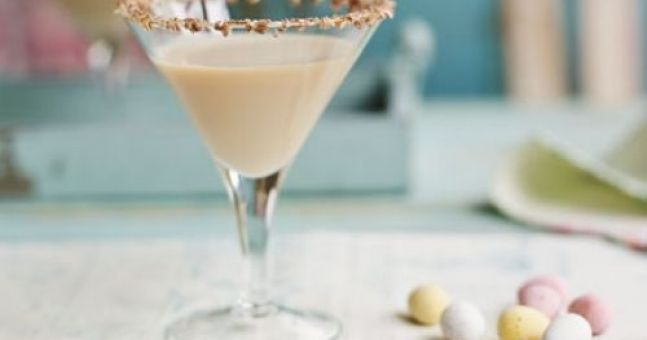 This Mini Egg Martini Is All Sorts Of Egg-Cellent (Just Don't Drink It Today)
