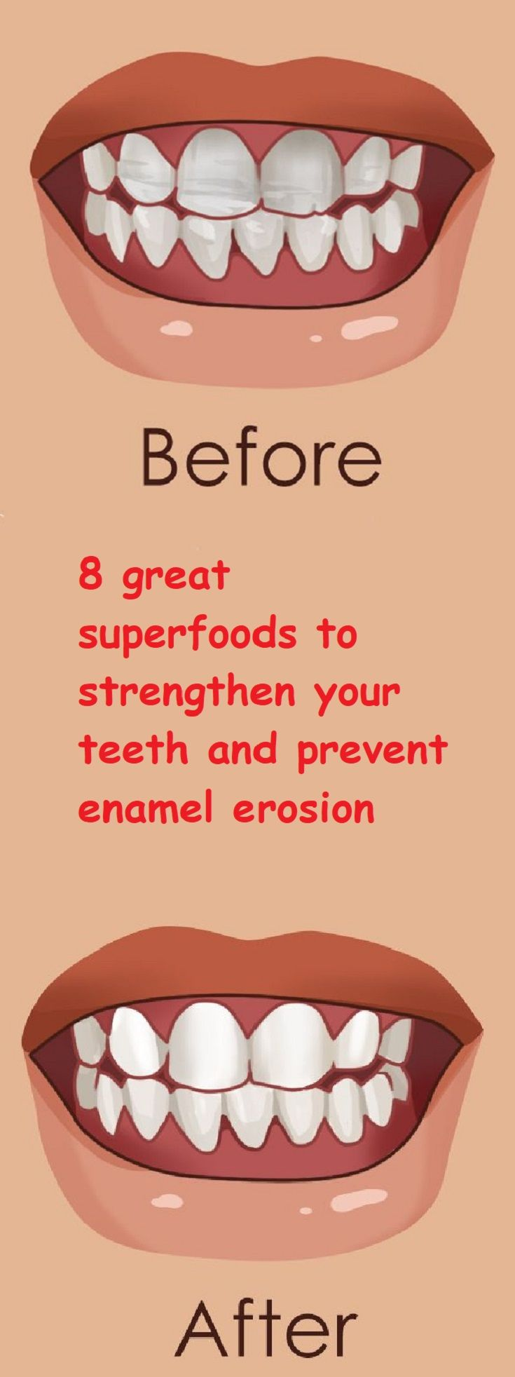 8 great superfoods to strengthen your teeth and prevent