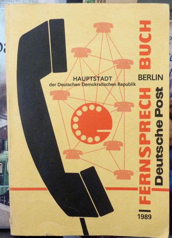 Fernsprech Buch, Berlin 1989