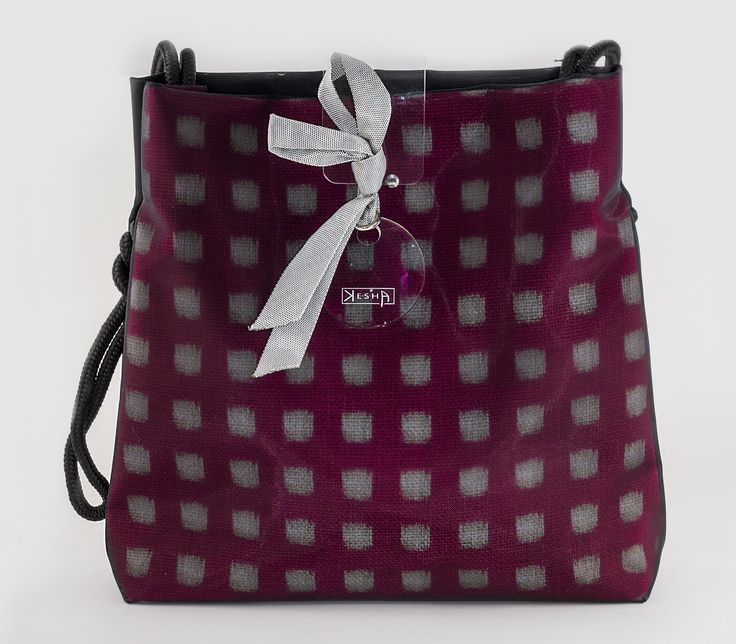 Unique handmade textile bag by Andrea Kesserű http://www.magma.hu/muveszek.php?id=137