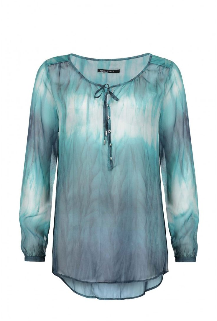 Calictus blouse turquoise