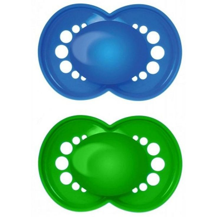 "MAM ""CLASSIC"" 2x Dummy Pacifier Soother"