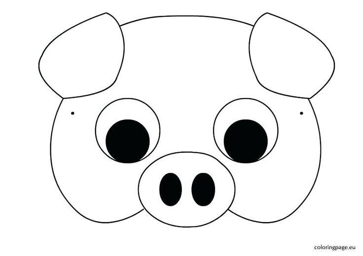 Image result for farm animal mask printable templates