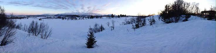Tromso has some amazing scenery, made even more beautiful by the snow