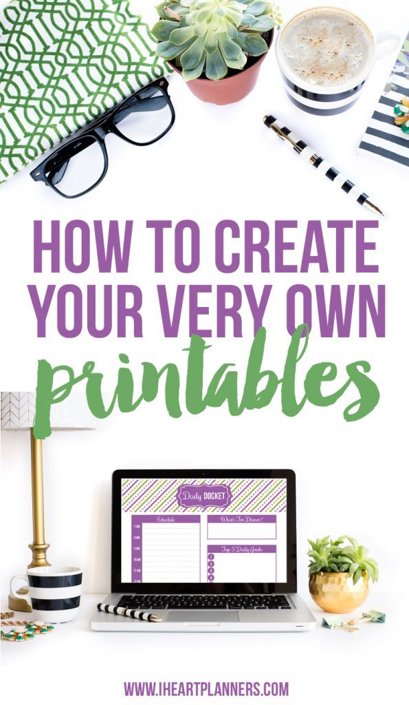 Learn how to create your own printables in this live webinar! classroom business crafts tools DIY tutorial
