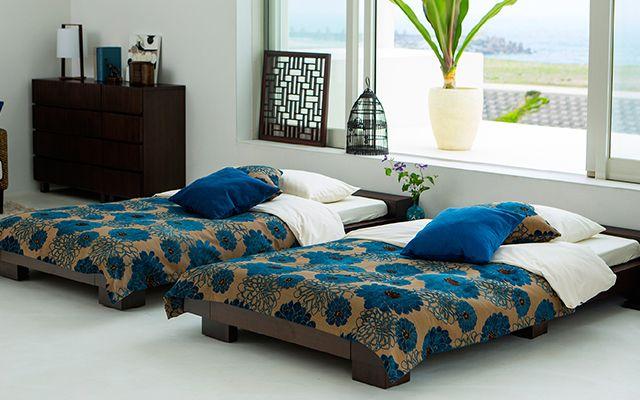 ベッドルーム   a.style   a.flat アジアン家具