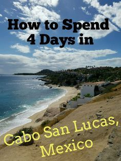 This trip was the perfect balance of adventure and relaxation. Click here to see how we spent four wonderful days in Cabo San Lucas, Mexico!