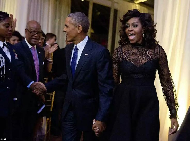 Speaking on Friday, Obama said he is sad that one of his and the first lady's favorite traditions had ended Read more: http://www.dailymail.co.uk/news/article-3860554/Obama-White-House-hosting-final-musical-event-BET.html#ixzz4NopWpyZW Follow us: @MailOnline on Twitter | DailyMail on Facebook