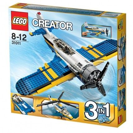 l'aereo ad elcia della serie lego creator 3 in 1