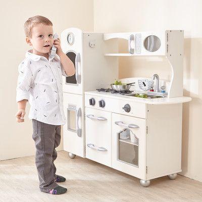 Best 25+ Wooden play kitchen ideas on Pinterest   Kids wooden play ...