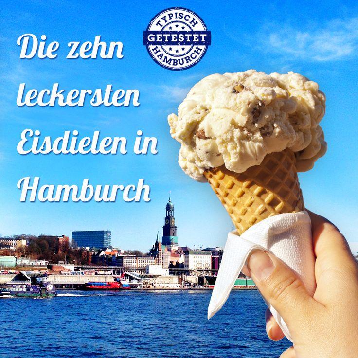 Am Wochenende kommt der Frühling mit sommerlichen Temperaturen zu uns nach Hamburch. Bis zu 20°C werden erwartet. Das perfekte Wetter um in die Eisdiele zu...