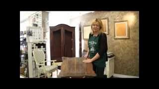 Cottage Paint how to and stenciling
