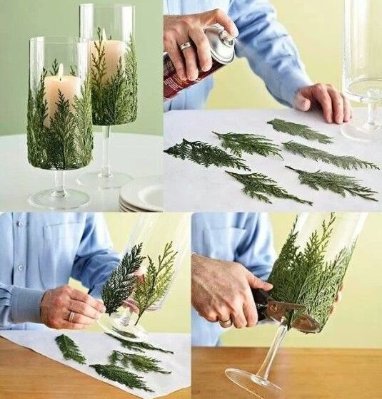 Super Easy DIY Christmas Decor Ideas - Forest of Firs - Click Pic for 25 Christmas Craft Ideas