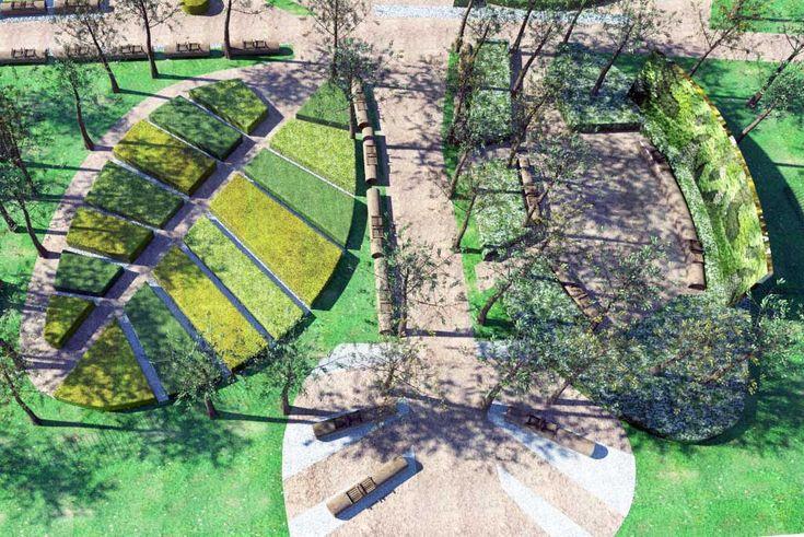 Utopia Landscapes - Botanical Garden in Park Floisvos