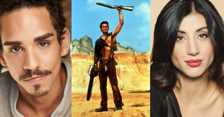 'Ash Vs. Evil Dead' Casts 2 Sidekicks for Bruce Campbell -- Ray Santiago and Dana DeLorenzo will help Bruce Campbell fight a Deadite army in 'Ash vs. Evil Dead', premiering on Starz later this year. -- http://www.movieweb.com/ash-vs-evil-dead-tv-show-cast-sidekicks
