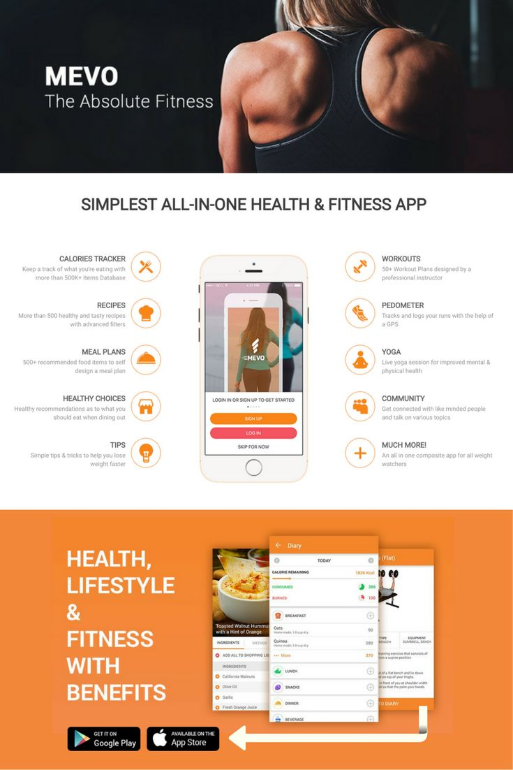 Mevo is the fitness app that let's you boost your health & lifestyle all at one place whilst rewarding you as you progress, and aspires you to do more!