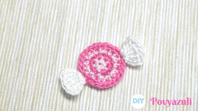 DIY Crochet and Knitting Povyazuli: [Crochet] How to Crochet a Candy Application.