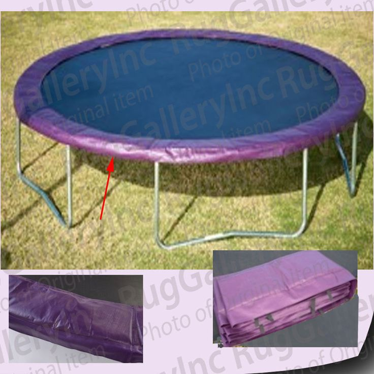 Super Trampoline Replacement Safety Pad Spring Cover: 25+ Unique Trampoline Safety Ideas On Pinterest