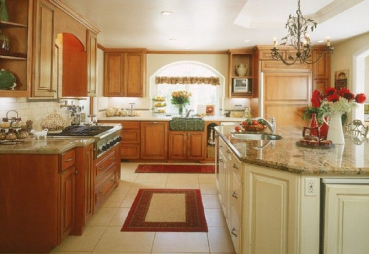 Paint Colors For Kitchens With Golden Oak Cabinets ...