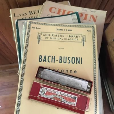 Piano Scores and Harmonica