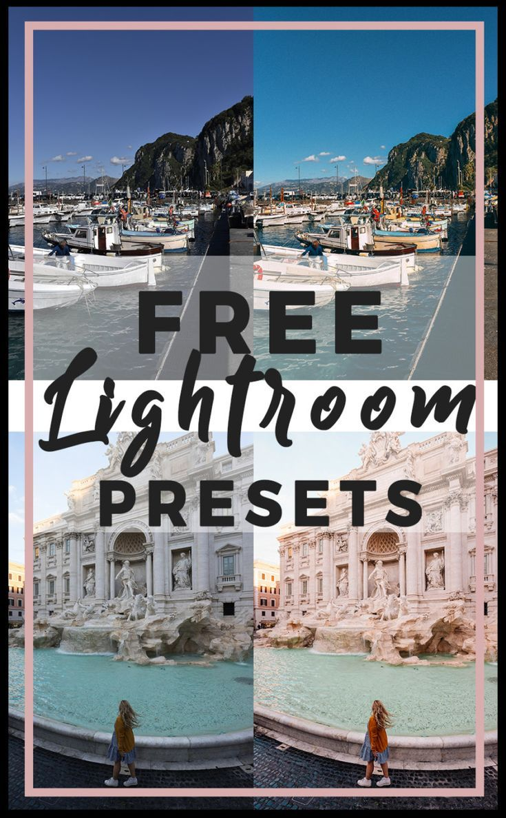 Free Lightroom Presets | Do It Yourself Today | Lightroom, Lightroom