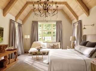 Rustic Bedroom By Suzanne Kasler Interiors And William T. Baker Associates  Ltd. In Atlanta. Decorating IdeasDecor ...