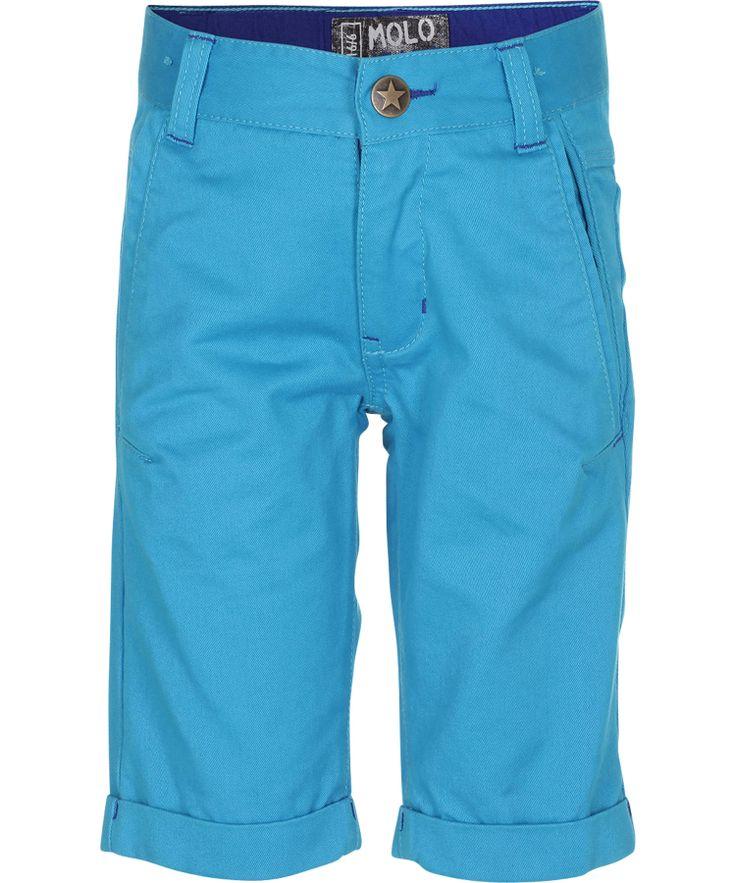 Molo Trendy Turquoise Capri Shorts #emilea