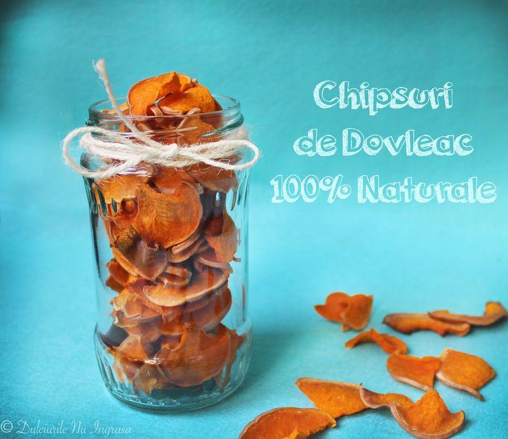 Chipsuri de Dovleac 100% Naturale