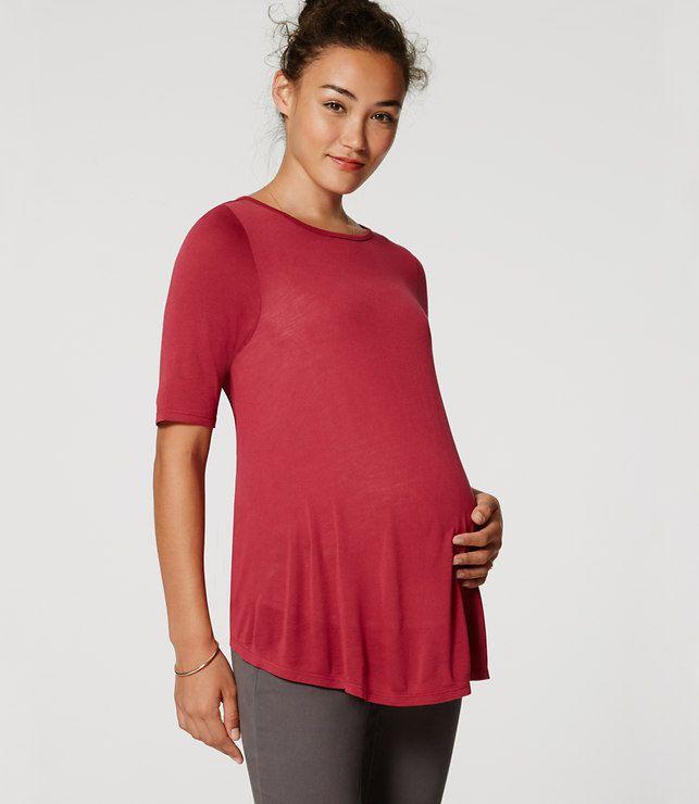 LOFT Maternity Swing Tee