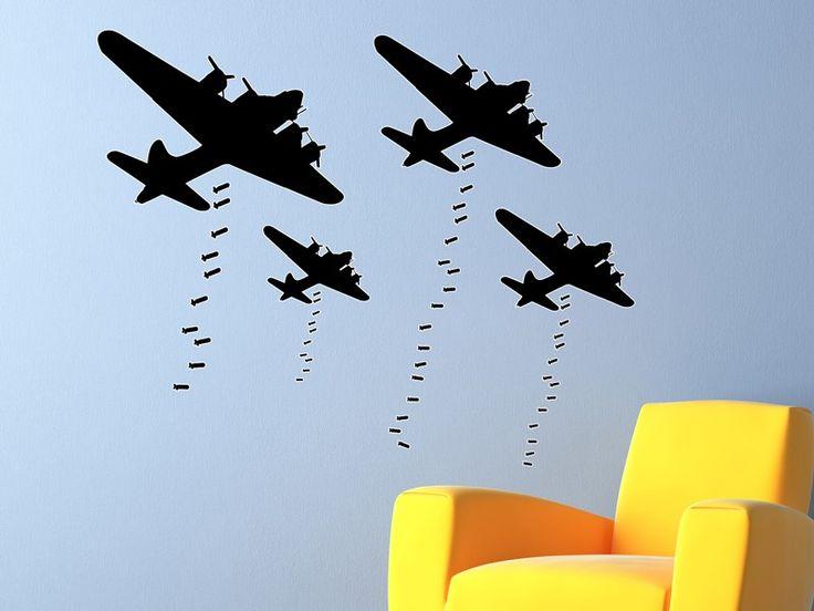 B-17 Bomber Wall Decor