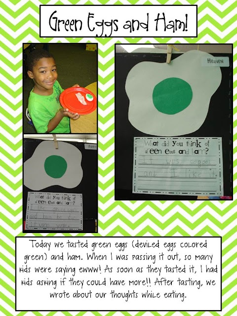 Mrs. Plant's Press: Green Eggs and Ham