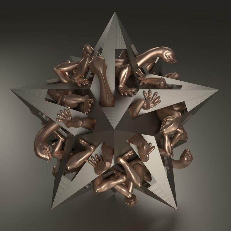 Gravity (M. C. Escher) by Vítězslav Koneval
