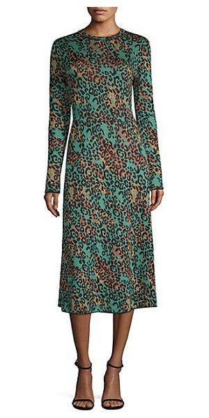 073e918ae8 M Missoni abito leopard-print lurex midi dress.  mmissoni