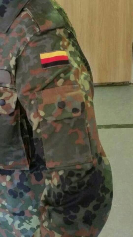 Ein Bundeswehrsoldat weiß, wofür die Abkürzung EPA steht.