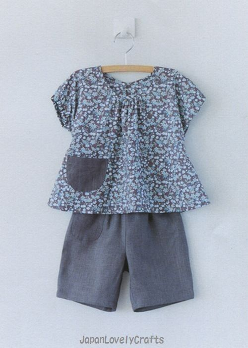 Handmade Baby Clothes  Japanese Sewing by JapanLovelyCrafts, $24.80
