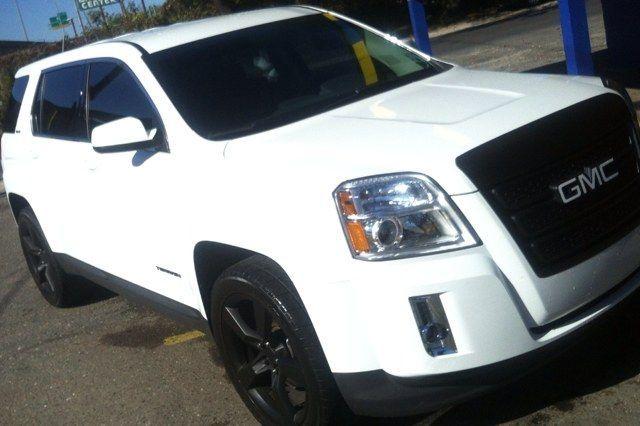 White Gmc Terrain With Black Rims This Is My Goal For Mine Rimsforcars Gmc Terrain Rims For Cars Gmc